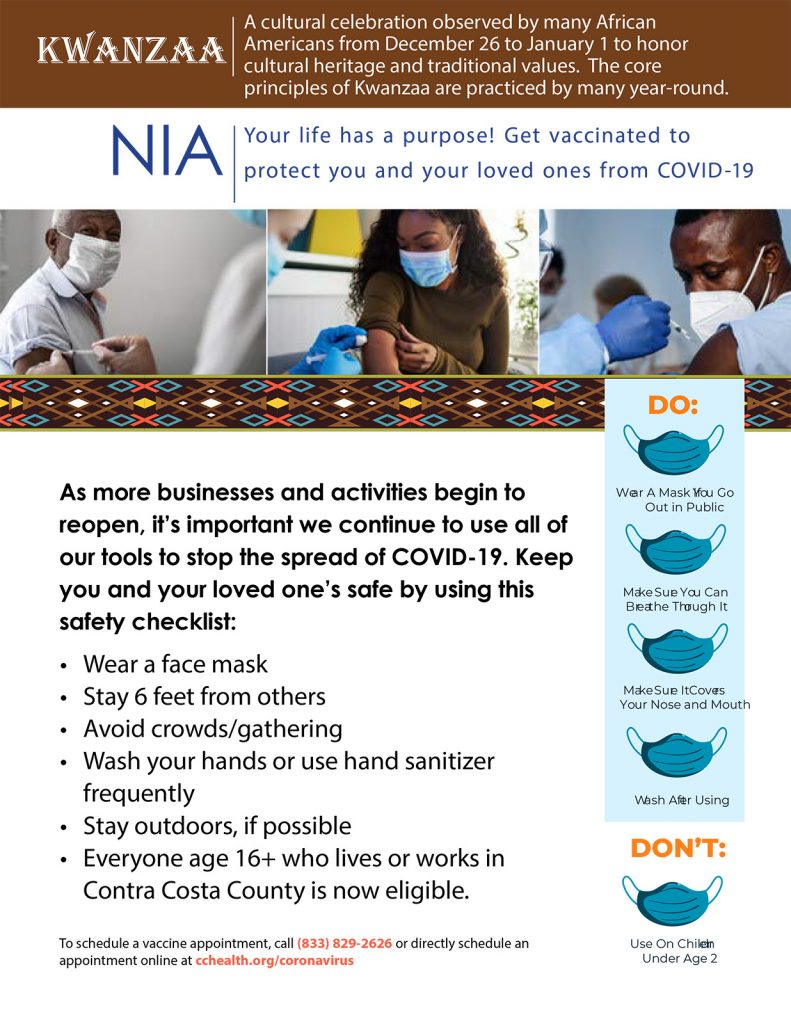 Page 1 of NIA flyer