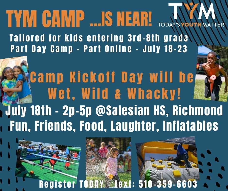 Flyer for TYM Camp
